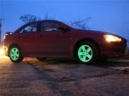 Бизнес на светящихся дисках для машин