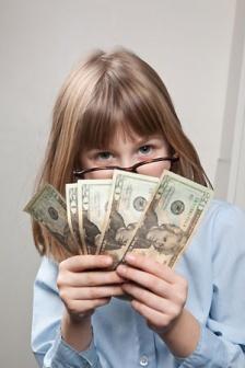 Ребенок 12 лет заработал деньги